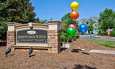 Community Signage, Sandtown Vista, 2