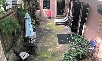 Patio / Deck, 1251 Esplanade Ave 3, 2