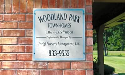 Woodland Park Townhomes, 1