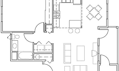 Bridle Trails Apartments, 2
