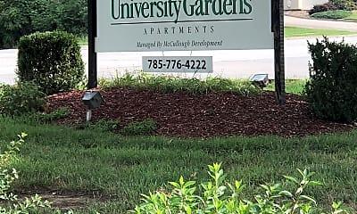 University Gardens, 1