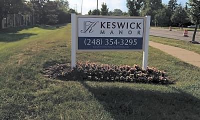 Keswick Manor, 1