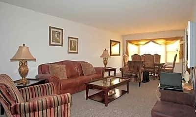 Living Room, 5000 Church Street, 1