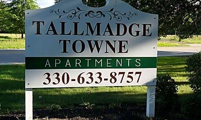 Community Signage, Tallmadge Towne Apartments, 0
