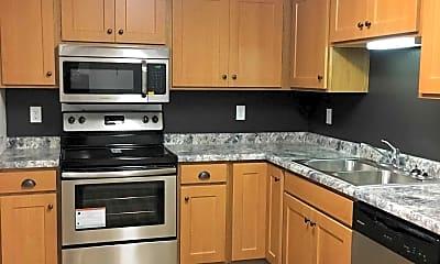 Kitchen, Park Century Apartments, 1