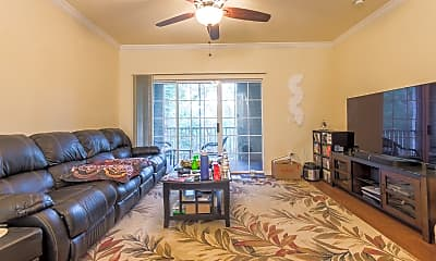 Living Room, 4445 NW 49th St, 1