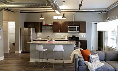 Kitchen, Lofts on Michigan, 1