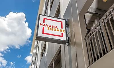 Community Signage, Havana Square, 2