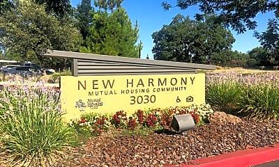 New Harmony Mutual Housing Community, 1