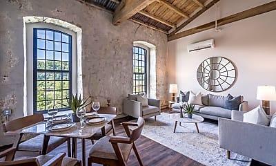 Living Room, Yarn Factory Lofts, 0