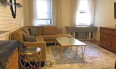 Living Room, 240 E 81st St, 1