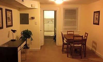 Living Room, 1017 S Charles St, 1