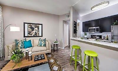 Living Room, 1443 N Fuller Ave, 0