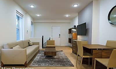 Living Room, 1726 Spruce St, 1