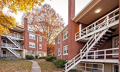 Building, Parkwood Apartments, 2