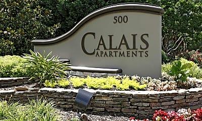 Community Signage, Calais Forest, 2