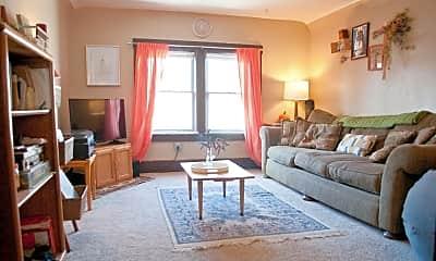 Living Room, 1641 Fairchild Ave, 0