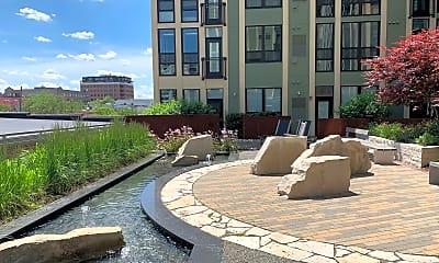 Landscaping, Ann Arbor City Apartments, 1