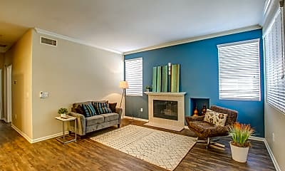 Living Room, Evening Creek Condominiums, 1