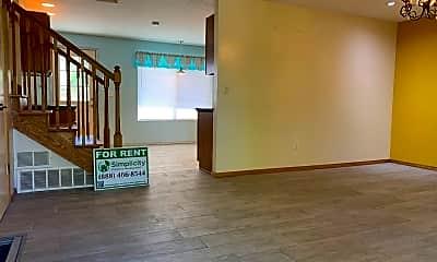 Living Room, 1576 Custer Ave., 1