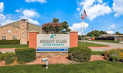 Community Signage, Mesquite Village, 2