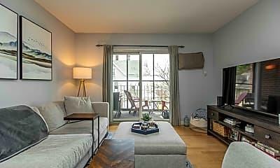 Living Room, 2353 Massachusetts Ave 32, 1