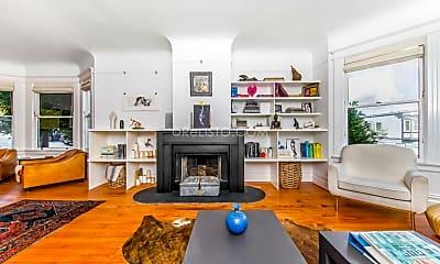 Living Room, 1450 Sanchez St, 0