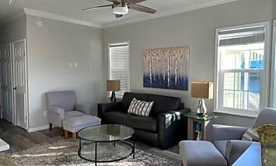 Living Room, 10701 S Ocean Dr 651, 2