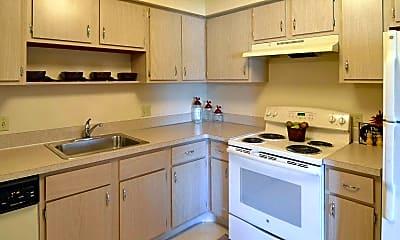 Kitchen, Tamarac Apartments, 1