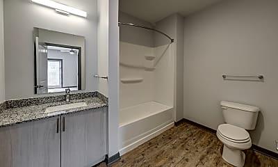 Bathroom, Wilshaw Apartments, 2