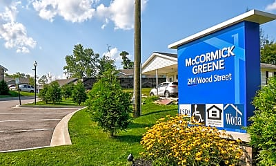 Community Signage, McCormick Greene, 2