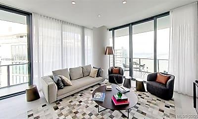 Living Room, 480 NE 31st St 4907, 2