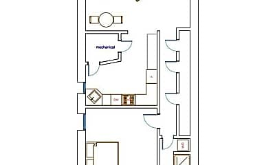 Bathroom, 1708 Q St NW, 2