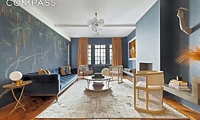 Living Room, 210 W 78th St 4-B, 0