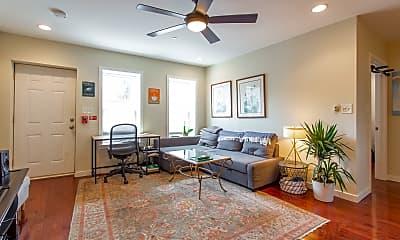 Living Room, 833 S 2nd St, 1