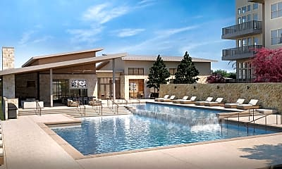 Pool, The Edison at Frisco Apartments, 0