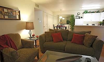 Living Room, Northwood Luxury Apartments, 0