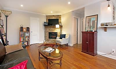Living Room, 378 Claremont Ave 6, 1