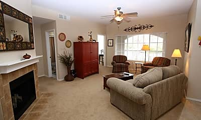 Living Room, 1500 E Pusch Wilderness Dr 4205, 1