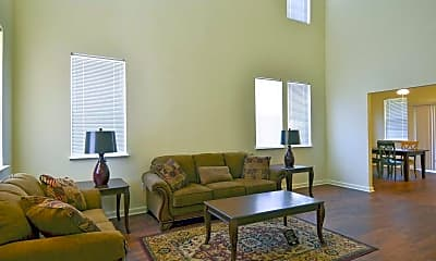 Living Room, Barksdale Family Housing, 1