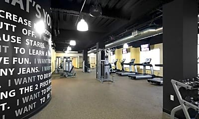 Fitness Weight Room, 310 Old River Rd, 2
