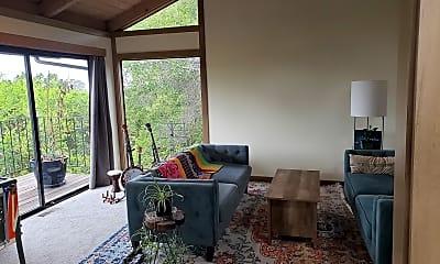 Living Room, 6060 Oak Knoll Road, 1