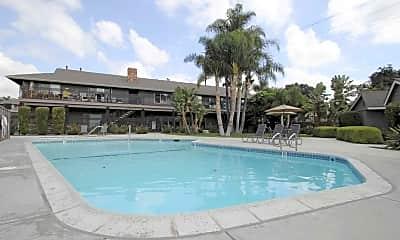 Pool, Serrento California Apartments, 0