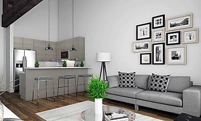 Living Room, 410 Shurs Lane, 1