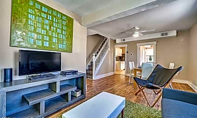 Living Room, 53 Franklin Ave, 1
