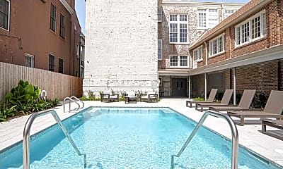 Pool, Good Counsel Apartments, 1