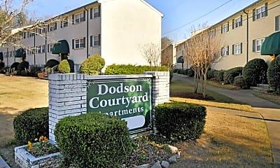 Building, Dodson Courtyard, 0