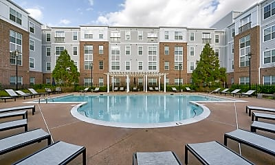 Pool, First Street Place Apartments, 0