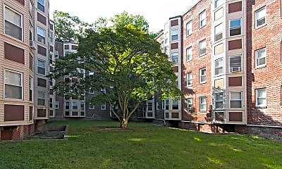 Clubhouse, Copley Manor Apartments, 1