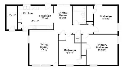 Building, 434 Josephine St, 1